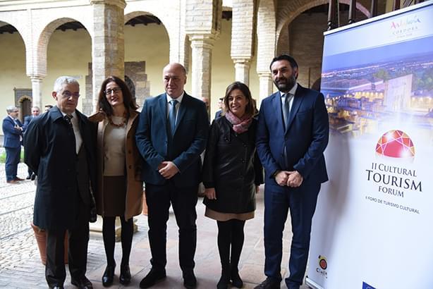 Más de un centenar de operarios del sector turístico internacional se reúnen en Córdoba en el II Foro de Turismo Cultural