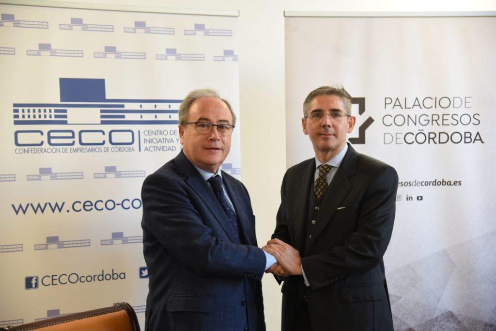 La empresa gestora del Palacio de Congresos de Córdoba se incorpora a CECO tras la firma de una alianza estratégica
