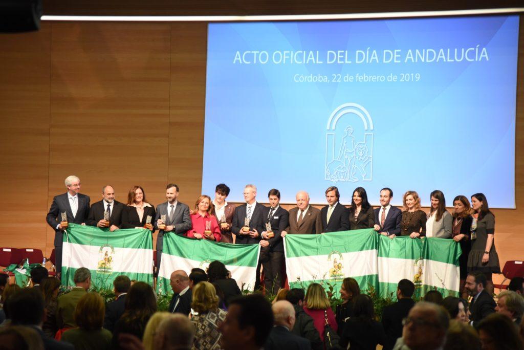 La marca Córdoba brilla en el acto oficial del Día de Andalucía en el Palacio de Congresos