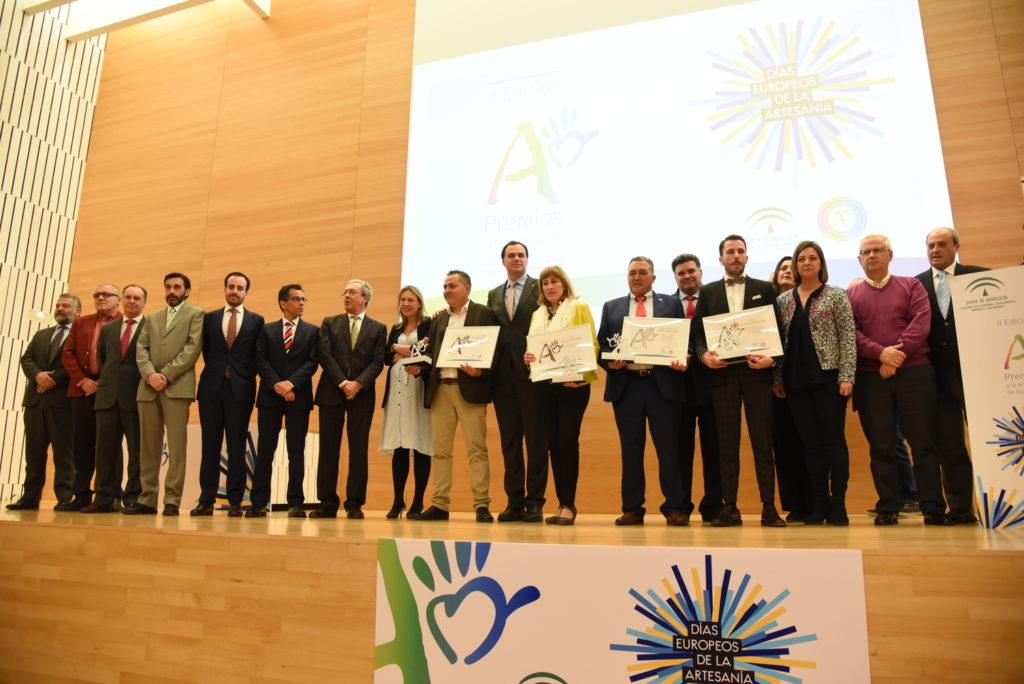 La Junta premia la labor artesana de Andalucía en el Palacio de Congresos de Córdoba