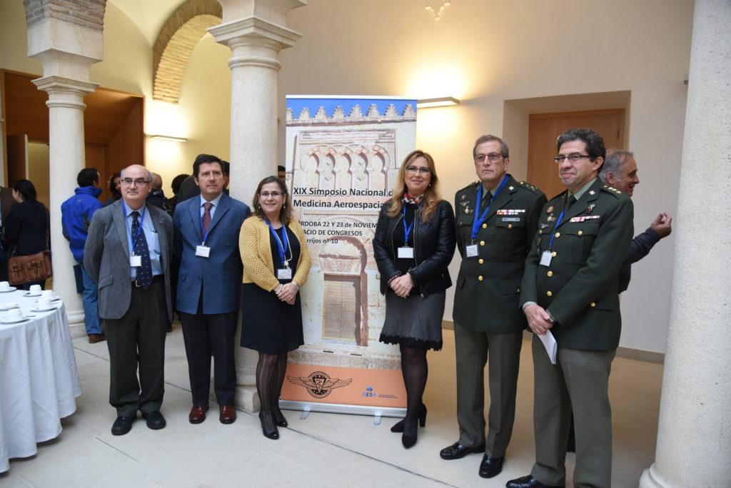 Más de un centenar de profesionales de la medicina aeroespacial se reúnen en Córdoba
