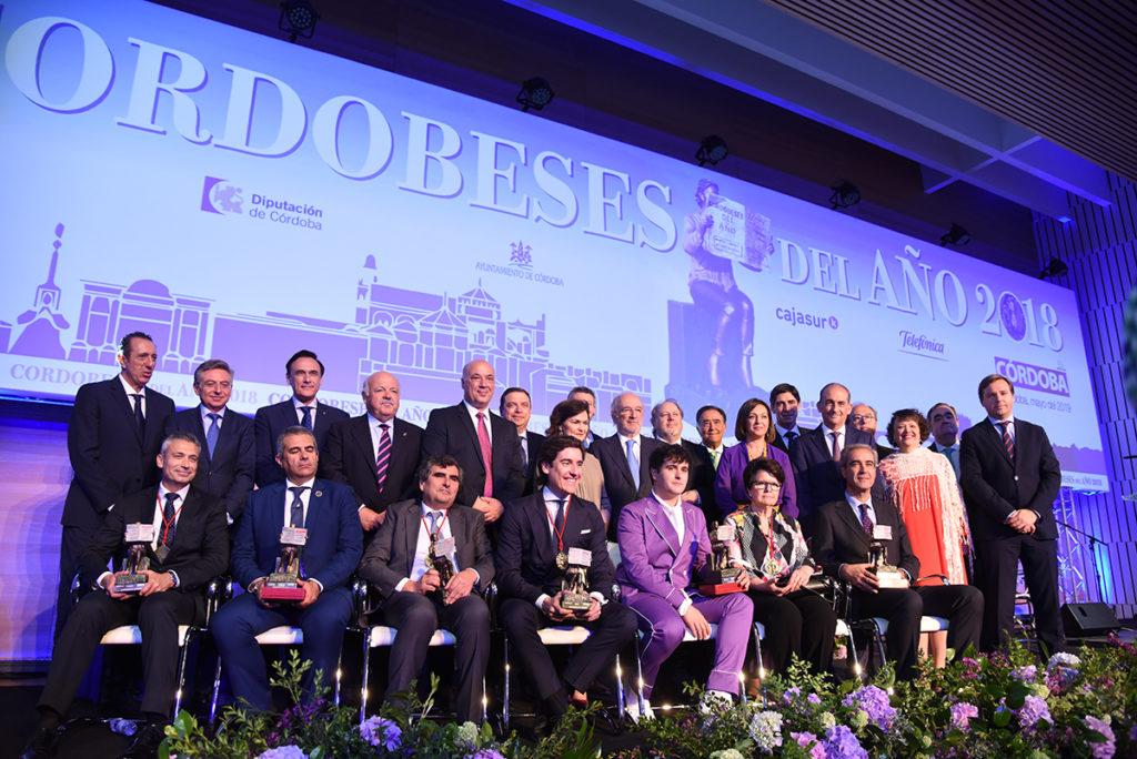 El Auditorio del Palacio de Congresos se llena para rendir homenaje a los Cordobeses del Año