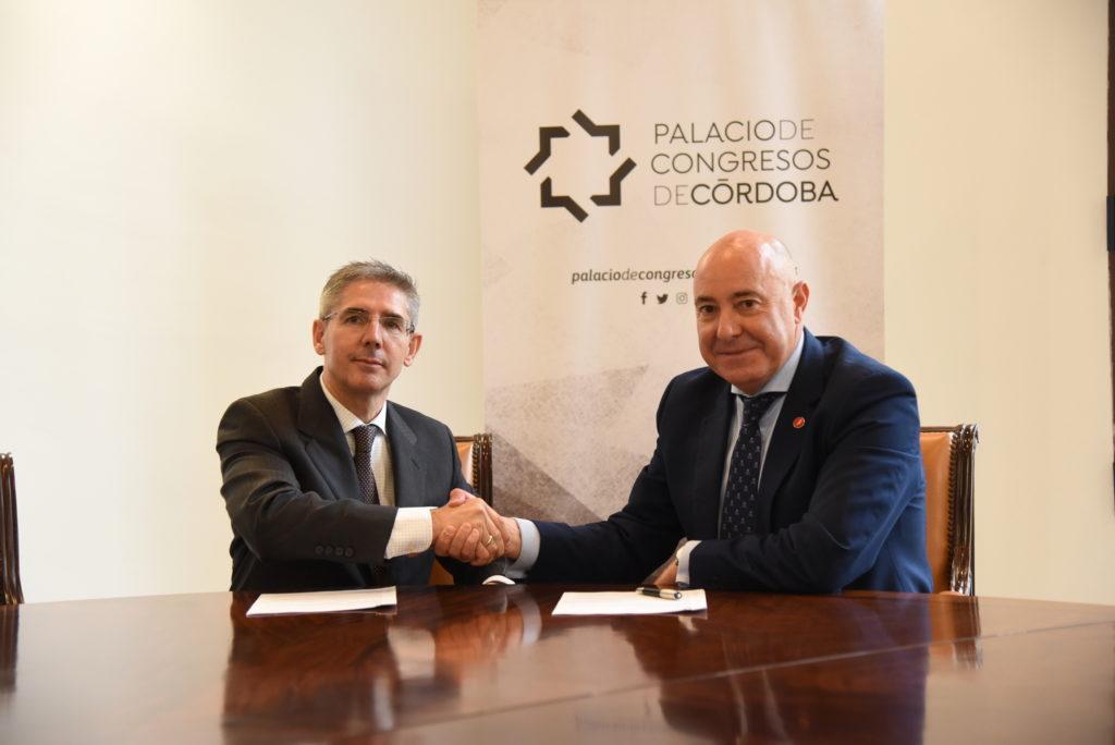 El Palacio de Congresos e Iberia firman un acuerdo de colaboración para potenciar y promocionar el turismo MICE