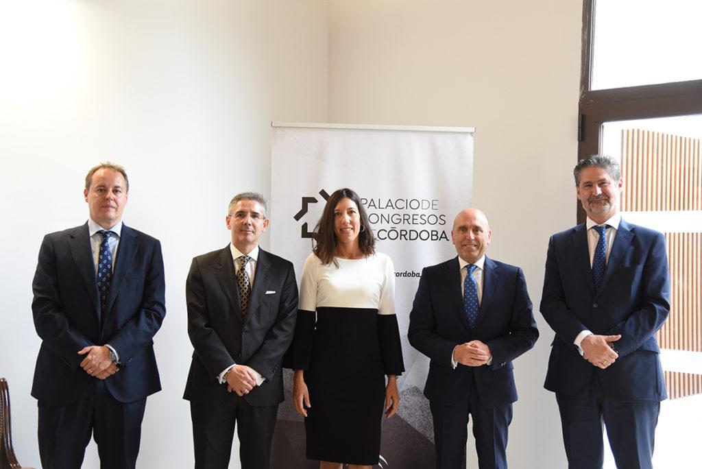 El Palacio de Congresos de Córdoba y Cajasur firman un acuerdo de colaboración para la generación de sinergias