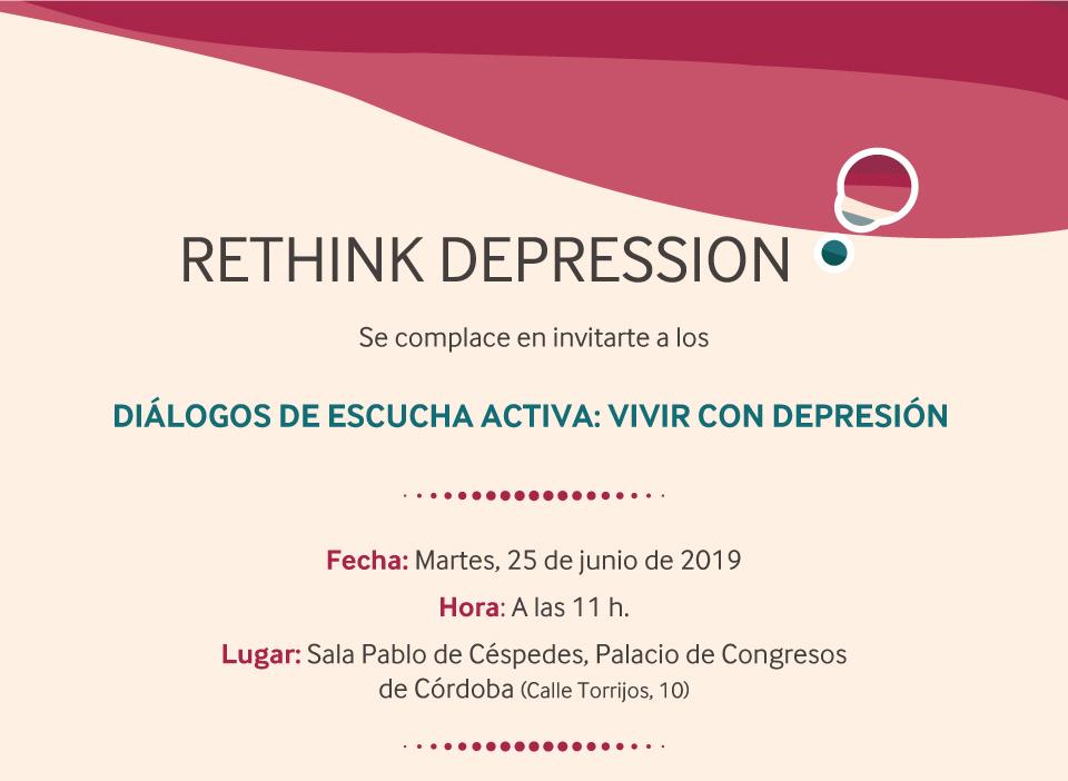 Diálogos de escucha activa: Vivir con depresión