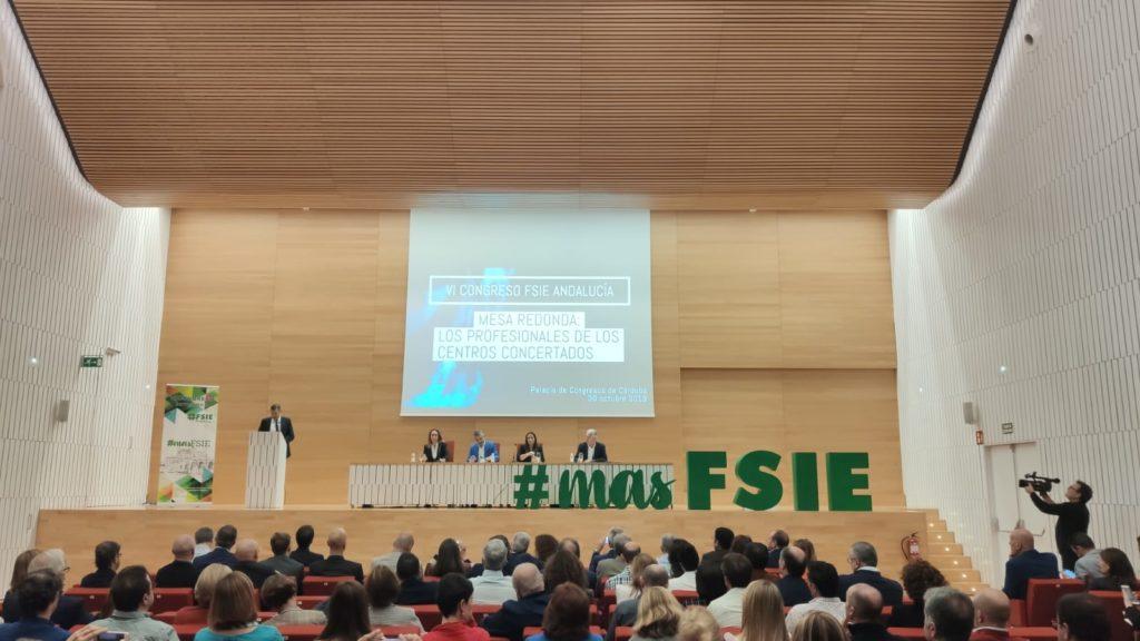 FSIE-Anadalucía celebra su VI Congreso Autonómico en el Palacio de Congresos de Córdoba
