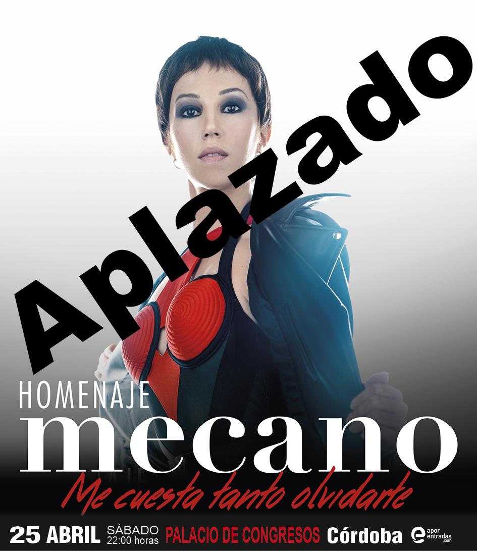 APLAZADO | Homenaje a MECANO en el Palacio de Congresos de Córdoba
