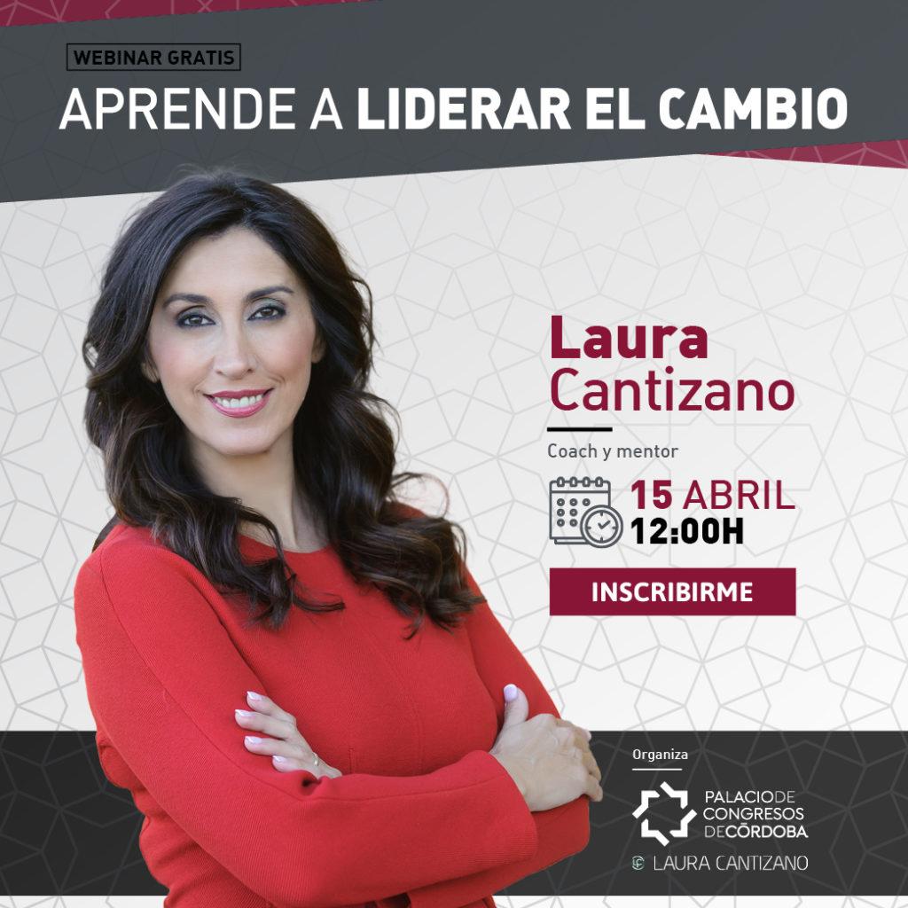 El Palacio de Congresos organiza un Webinar para profesionales junto a la coach Laura Cantizano