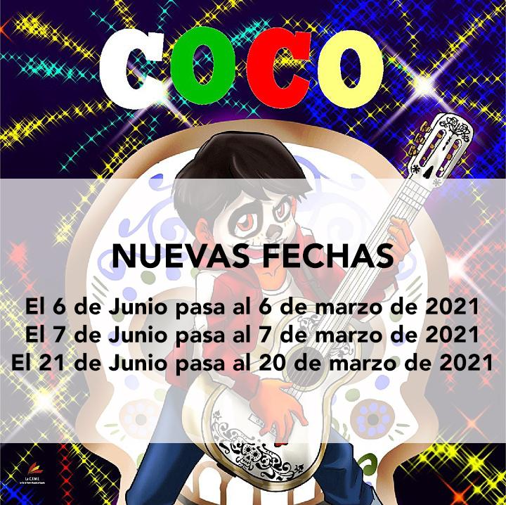 Nuevas fechas para 'COCO. El Musical'