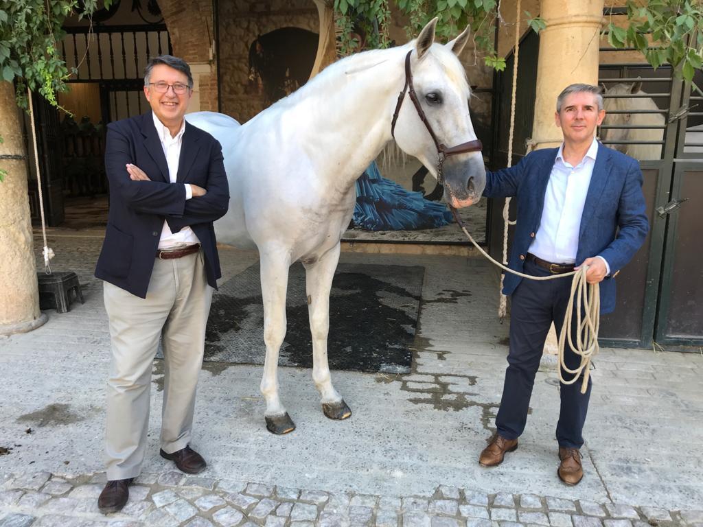 El Palacio de Congresos y Córdoba Ecuestre firman una alianza estratégica para potenciar la dinamización cultural de la ciudad