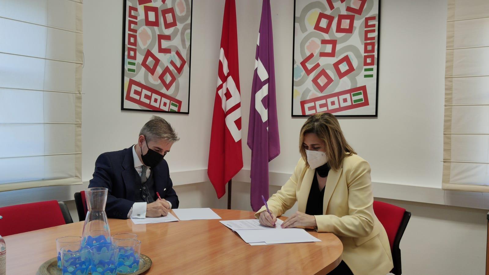 CCOO se une al grupo de entidades patronas del programa Embajadores de Córdoba dinamizado por el Palacio de Congresos