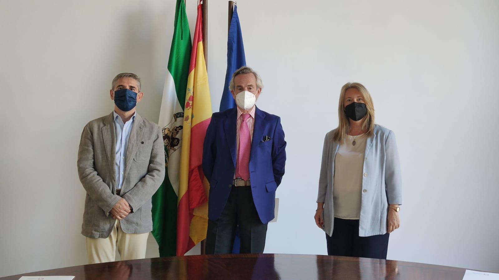 Vinos, Aceites y Vinagres 12PB, de Sánchez-Ramade, nuevo proveedor oficial del área de hostelería y tienda del Palacio de Congresos de Córdoba