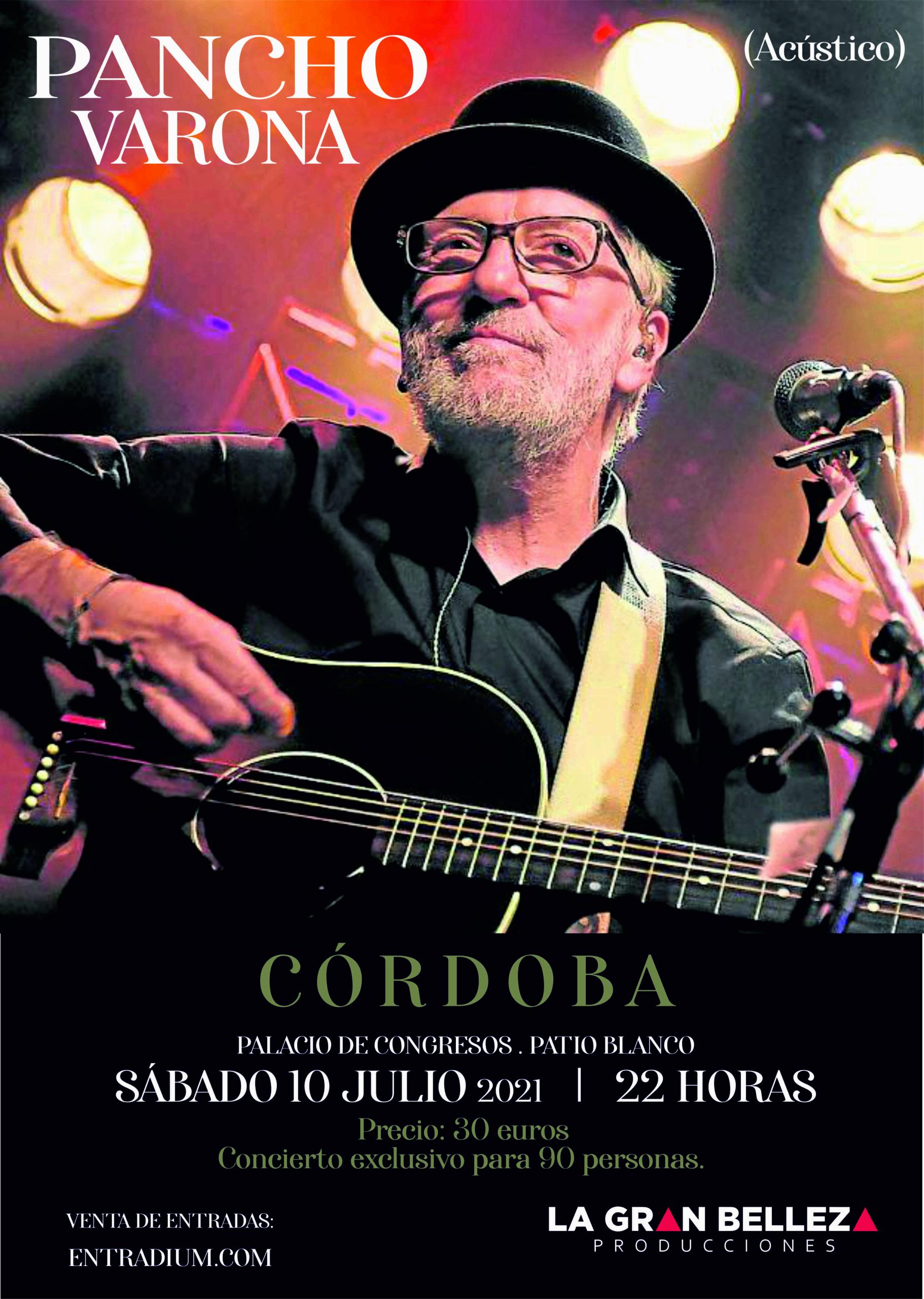Pancho Varona en Córdoba